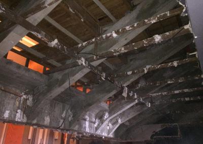 Théâtre de Moulins - Structure sous le balcon