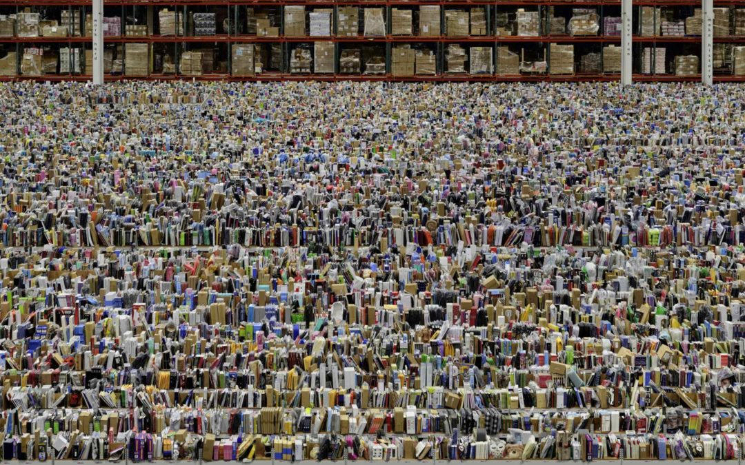 Andreas Gurskyc, Amazon © Andreas Gursky / ADAGP, 2019 Courtesy Sprüth Magers