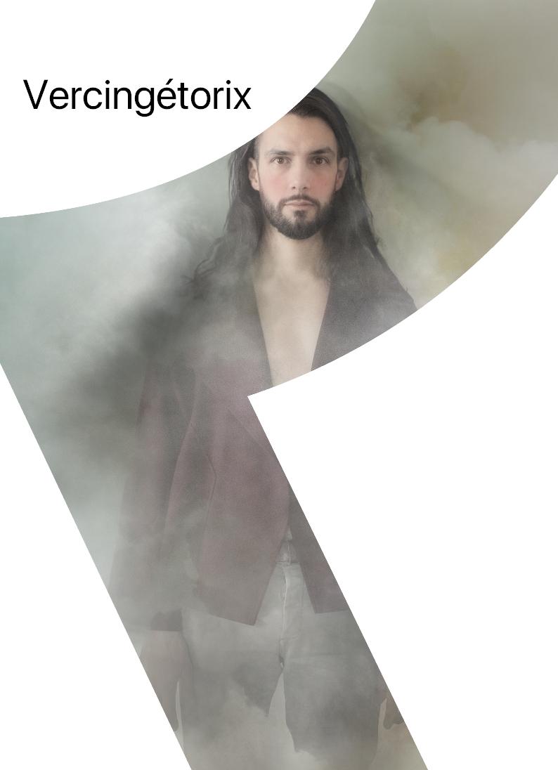 Affiche Vercingétorix-Théâtre Le Leurre-Granville